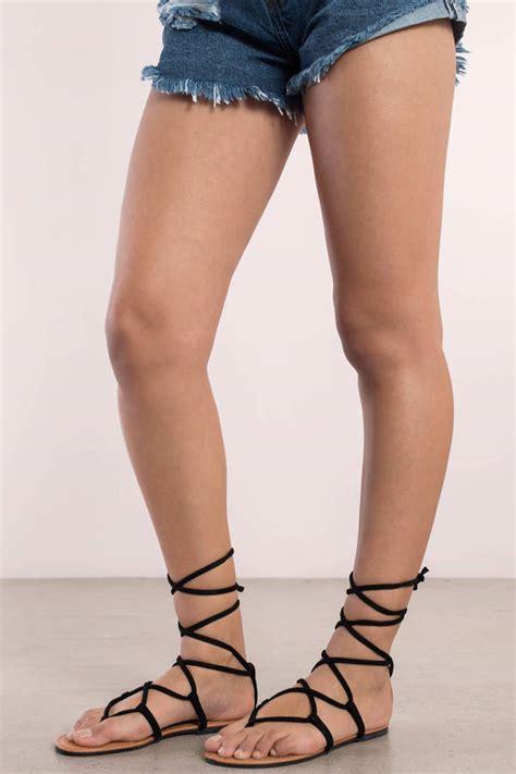 black tie up sandals sandals gladiator sandals strappy sandals lace up