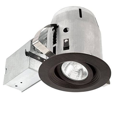recessed lighting kits contractor pack authentic globe electric 4 quot swivel spotlight recessed