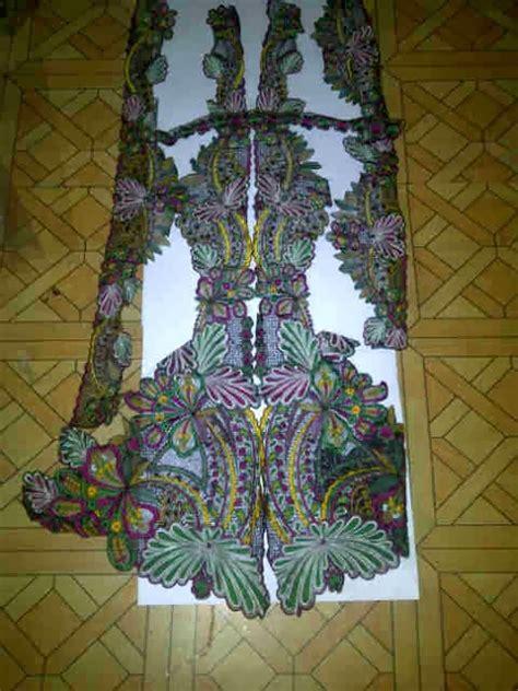 Ima Bordir mode batik bordir koko garutan triangle ima bordir butik