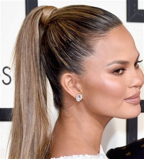 hairstyles for straight hair ponytail 20 super chic hairstyles for straight hair