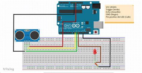 sensor hc sr sensor ultrasonico arduino uno hetpro