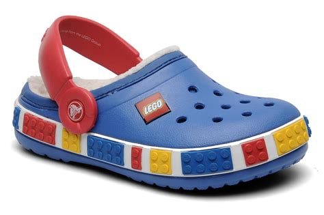 lego slippers uk crocs crocband mammoth lego clog sandals in blue at
