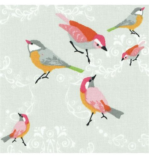 bird pattern fabric uk a little bird fabric 100 cotton designer print