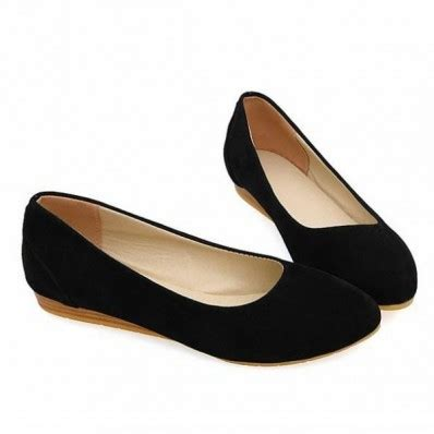 flat black womens shoes suede color toe flats womens flat