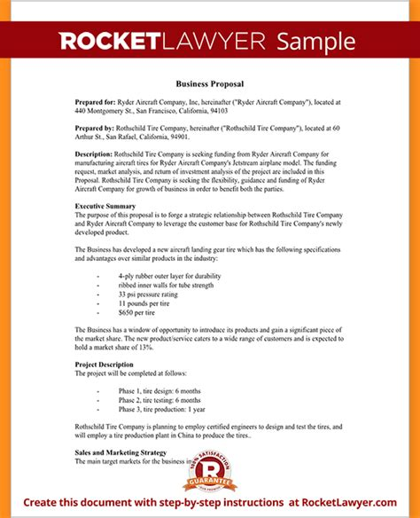 Simple Business Proposal Template Business Proposal Templated Business Proposal Templated How To Create A Business Template