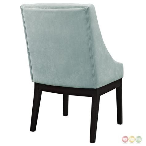 blue suede dining chairs tide modern suede like upholstered dining side chair w