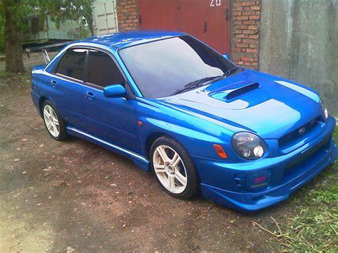 Subaru Wrx Sti 2002 by 2002 Subaru Impreza Wrx Sti Images Gasoline Manual For Sale