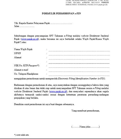 format surat kuasa khusus wajib pajak excel contoh surat bahasa indonesia lengkap referensi surat anda