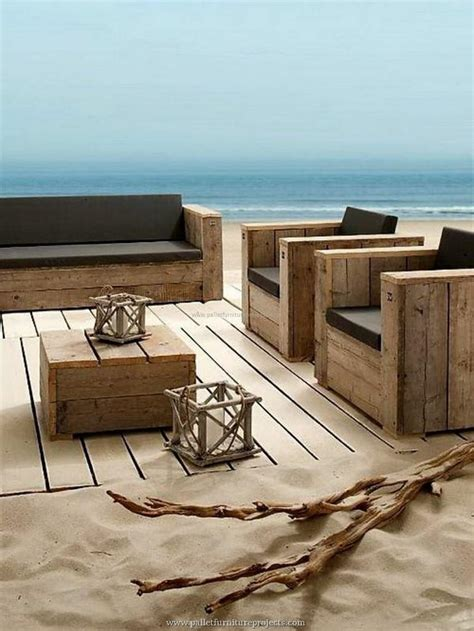 Furniture Made With Recycled Wooden Pallets Pallet Pallets Outdoor Furniture