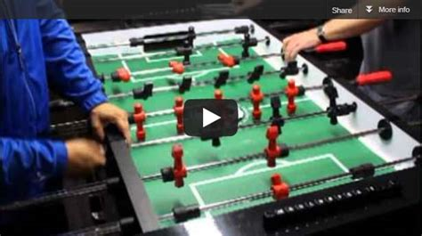 warrior table soccer say soccer