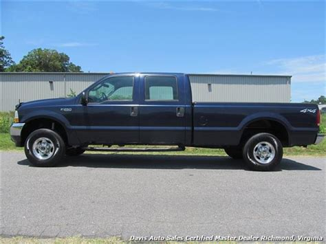 crew cab long bed 2003 ford f 250 super duty xl 4x4 crew cab long bed