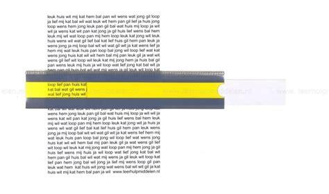 Slide Reader leeslinialen leerhulpmiddelen nl