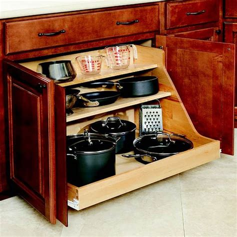 kitchen storage ideas for pots and pans 34 insanely smart diy kitchen storage ideas