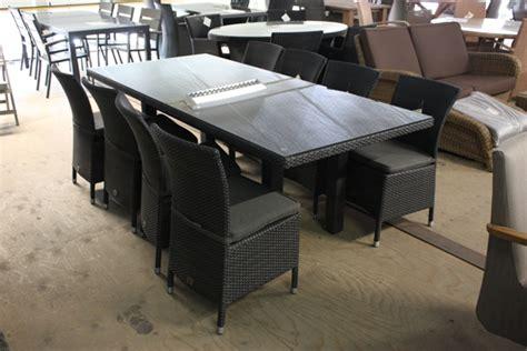 buitenkeuken nunspeet dining set wicker met 8 stoelen