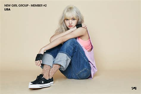 blackpink lisa age yg reveals second new girl group member lisa soompi