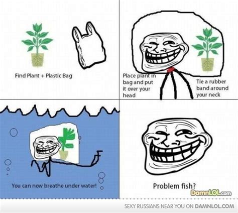Troll Meme - troll fish jokes memes pictures