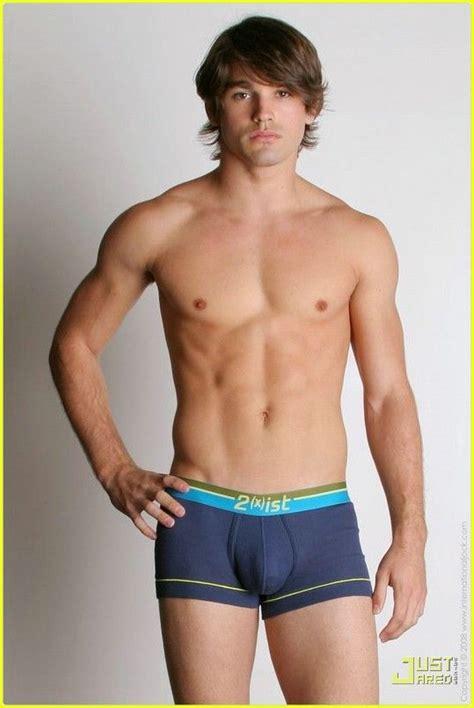 model boy jocstrap shorts justin gaston miley cyrus underwear model 19 justin