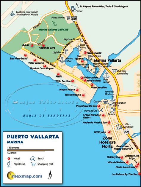 vallarta map of mexico vallarta map of mexico mexico map