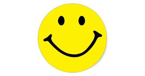Sticker Smileys by Yellow Smiley Classic Sticker Zazzle