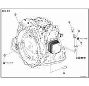 Service Manual 2001 Nissan Sentra Transmission Removal