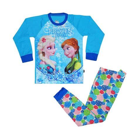 Baju Tidur Anak Boypiyama Pajamas 2 jual j2 frozen pajamas baju tidur anak biru harga kualitas terjamin