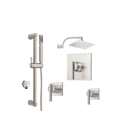 Danze Shower by Faucet Sirius Shower Bundle 2 In Chrome By Danze