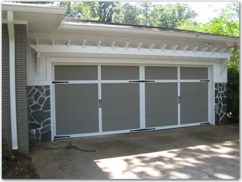 Garage Door Arbor by Garage Door Trellis