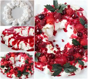 berry pavlova wreath the whoot