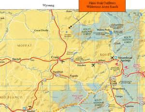 map of pikes peak colorado pikes peak cabin pikes peak archery