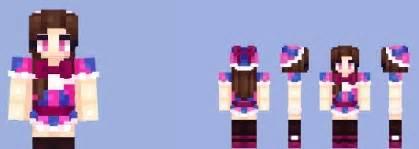 Balloon girl fnaf skin minecraft 1 9 1 8 9 1 7 10 mods resource