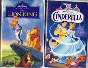 lion king vhs 1995 amp walt disney masterpiece