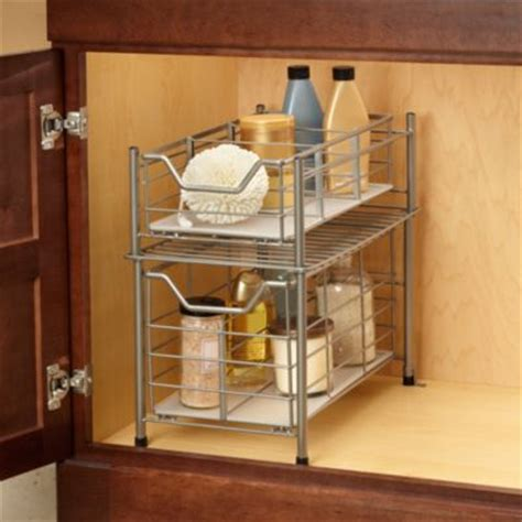 easy view cabinet organizers buy bathroom cabinet organizers from bed bath beyond