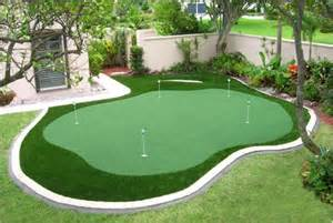 backyard chipping green 1000 ideas about outdoor putting green on