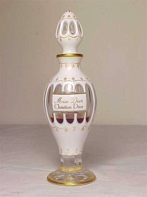 Miss Perfume Bottle vintage 1948 baccarat quot miss quot christian