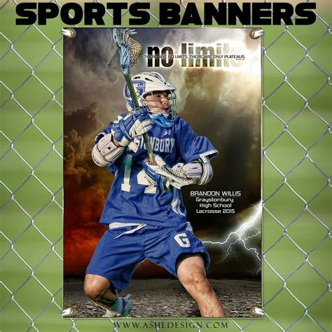 templates for sports banners amped sports banner 24x36 no limits ashedesign