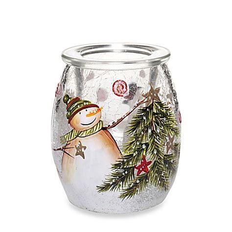 yankee candle tea light holder yankee candle 174 star light snow bright hurricane small tea