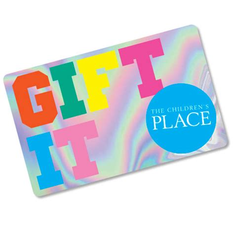 Children S Place Gift Card - gift cards the children s place