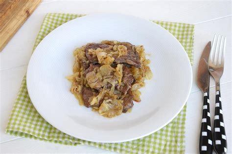 cucinare fegato 187 fegato alla veneziana ricetta fegato alla veneziana di