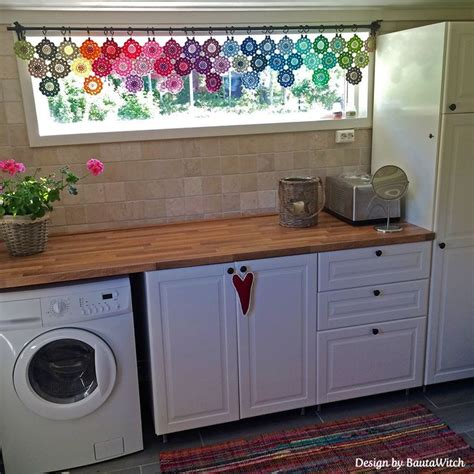 kitchen curtain ideas diy best 25 crochet curtain pattern ideas on
