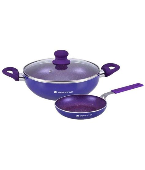 Madame Chef Frypan Set 3 Pcs wonderchef blue cookware set 3 pcs deals forum at desidime