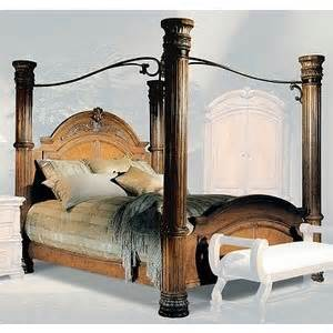 Bellagio Canopy Bedroom Set Furniture Bellagio Bedroom Canopy Bed Polyvore