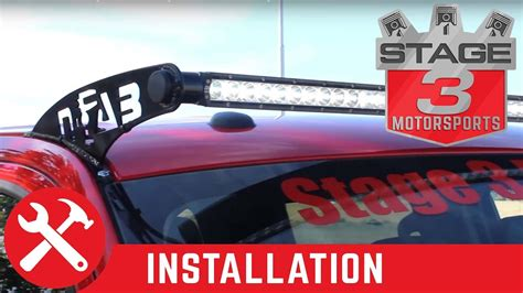 2009 2014 Ford F 150 Rigid 50 Quot Sr Series Light Bar And N How To Install Led Light Bar On Roof
