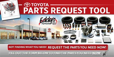 Order Toyota Parts Toyota Parts Request Order Genuine Parts Accessories