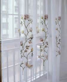 Butterfly Kitchen Curtains Butterfly Embroidered Kitchen Curtain Finished Products Shalian Curtain Balcony The Finished