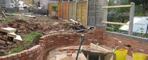 garden wall builders decorative brickwork birmingham solihull garden wall