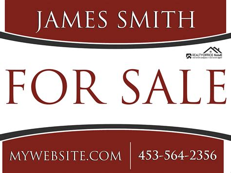 Real Estate Yard Sign Template Realtor Yard Sign Template Lawn Sign Design Templates