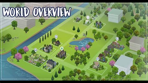 mod the sims downloads challenge themes stuff for kids the sims 4 lets build newcrest world overview youtube