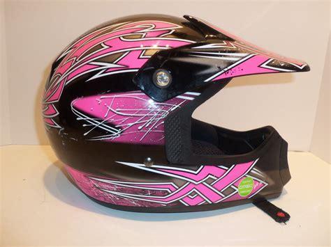 fulmer motocross helmets fulmer jt1 maze youth motocross dot girls helmet pink
