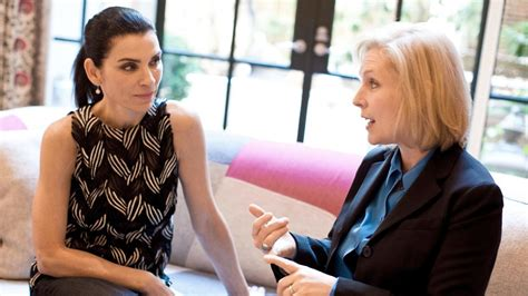 kirsten gillibrand nytimes kirsten gillibrand and julianna margulies share more than