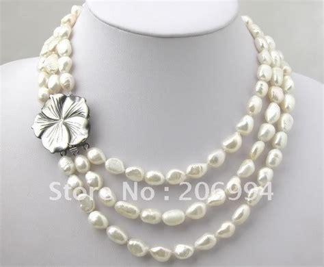 Handmade Fashion Jewellery - handmade 40 quot stylish white freshwater pearl blue opal